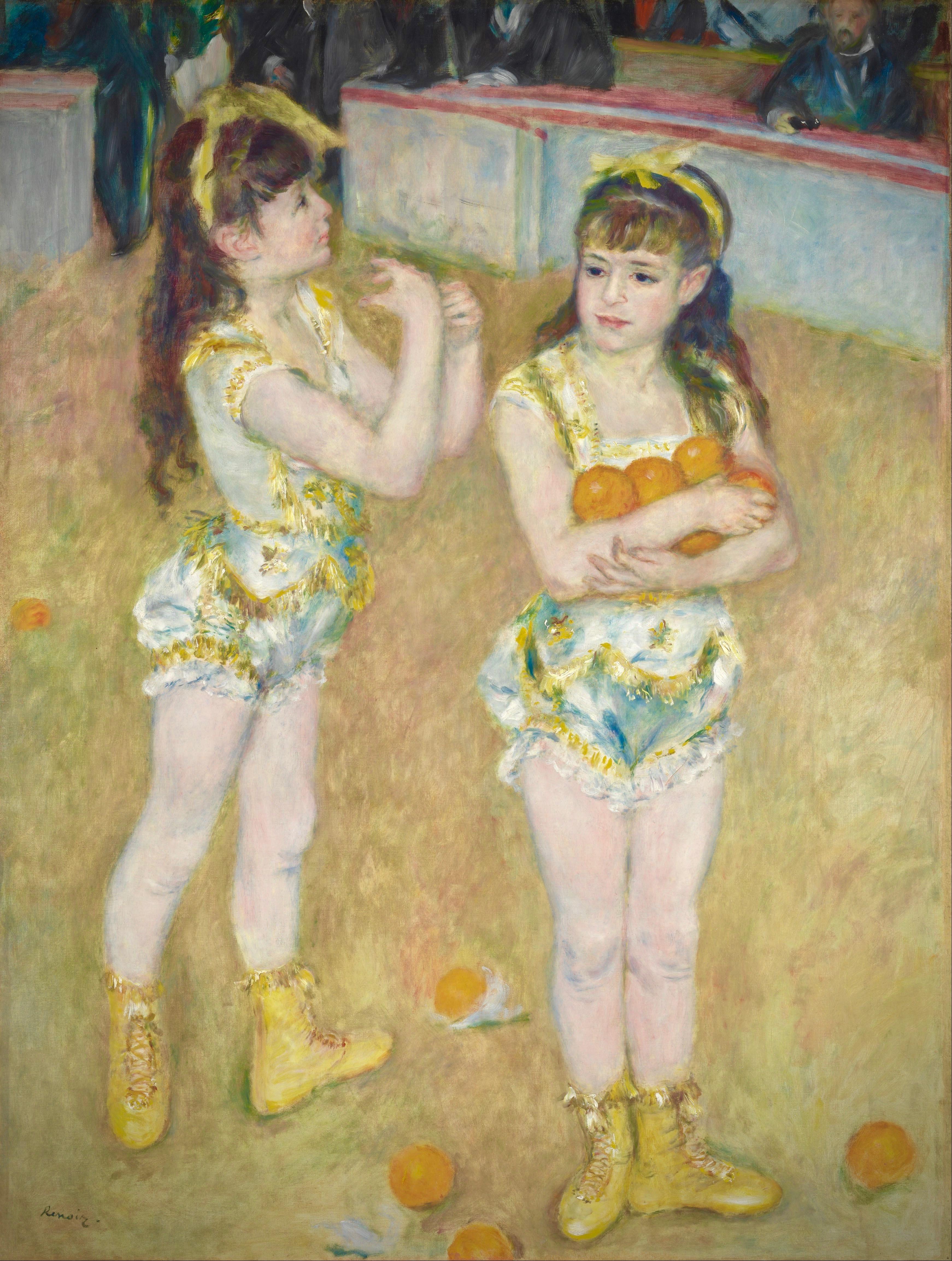 pierre-auguste_renoir_-_acrobats_at_the_cirque_fernando_francisca_and_angelina_wartenberg_-_google_art_project