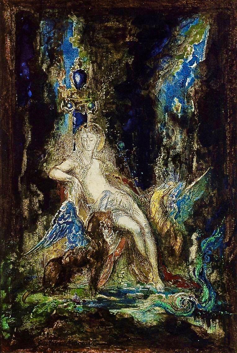 gustave-moreau-fairy-and-griffon
