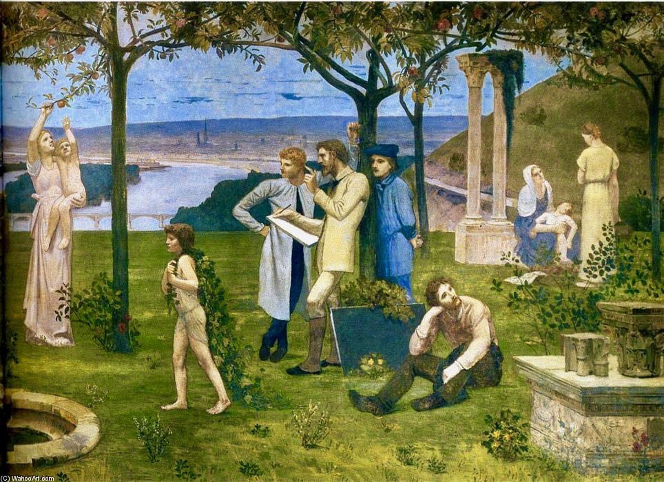 Pierre-Puvis-De-Chavannes-Between-Art-and-Nature-detail-2-