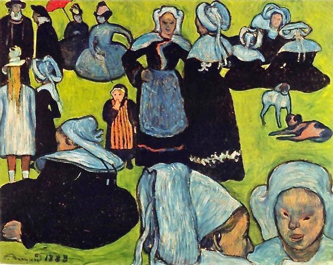 Émile_Bernard_1888-08_-_Breton_Women_in_the_Meadow_(Le_Pardon_de_Pont-Aven)