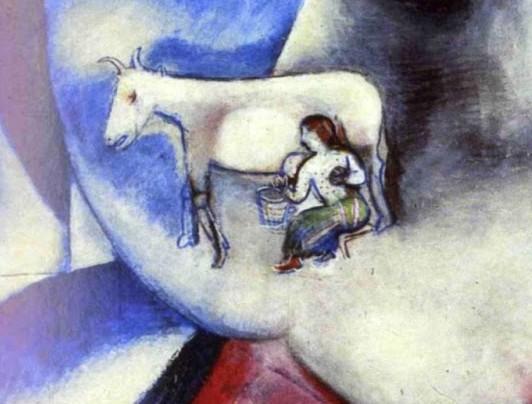 1911-Marc-Chagall-Moi-et-le-village-huile-sur-toile-192-a-1514-cm-New-York-Simon-Guggenheim