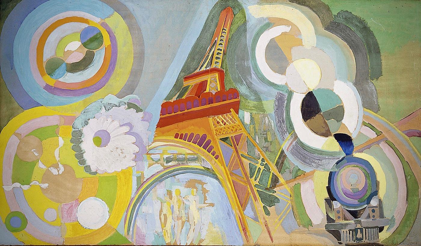 Robert_Delaunay_Air_fer_et_eau_étude_1937