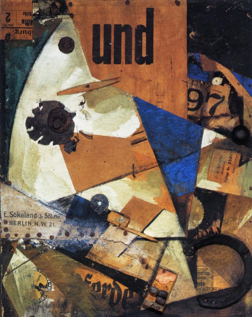 Das Undbild 1919 K. Schwitters
