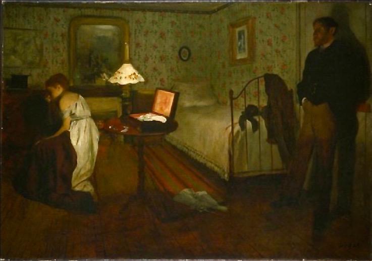 Degas Interieur ou le viol