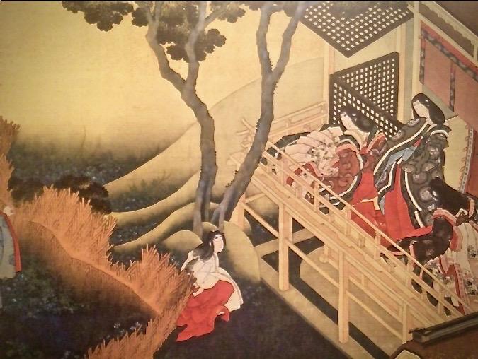 Hokusai Aristocrate et Dame de cour