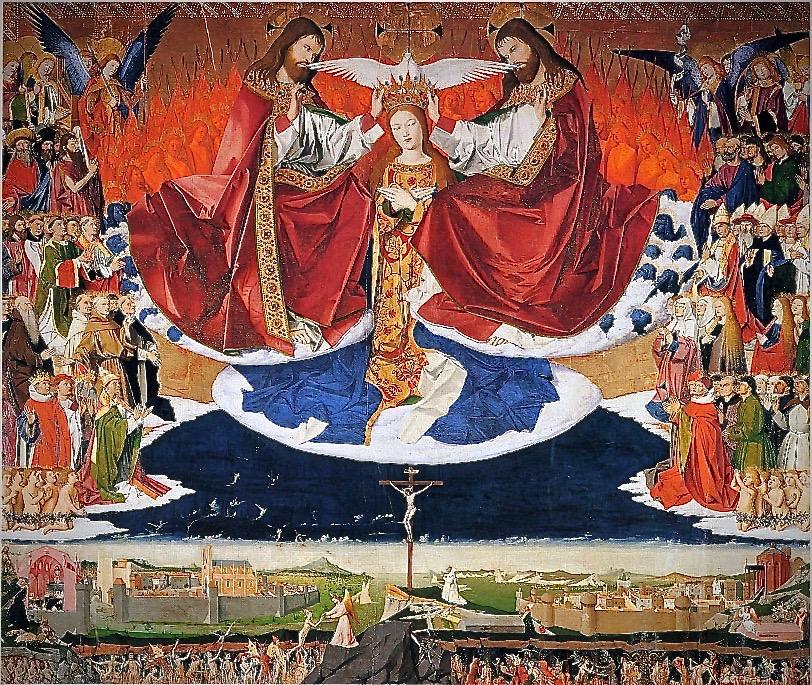 Enguerrand_Quarton,_Le_Couronnement_de_la_Vierge_(1454)