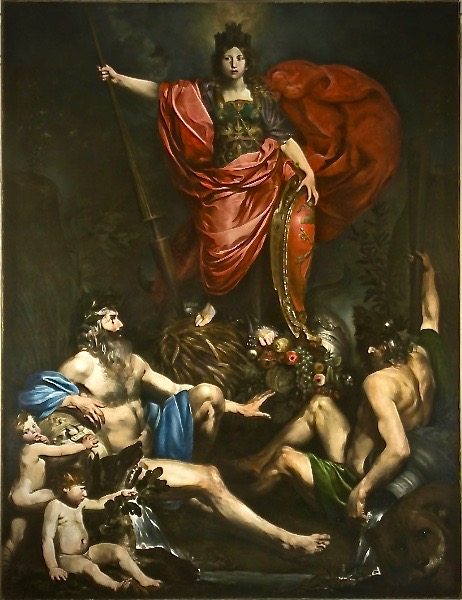 Painting, Villa Lante a Roma