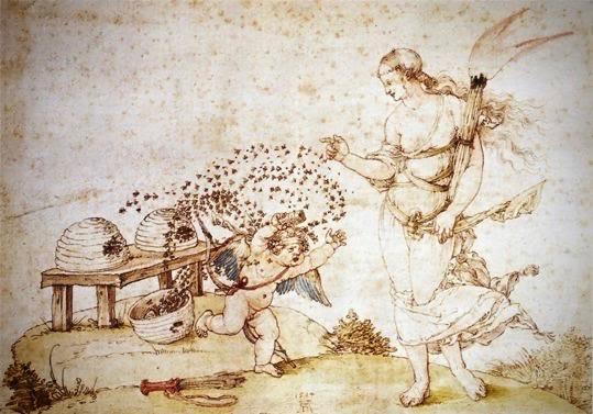 1540-Dürer-Venus-et-Cupidon