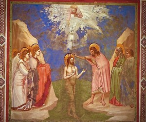 Giotto_-_Scrovegni_-_-23-_-_Baptism_of_Christ 2