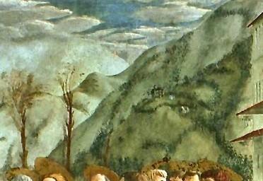 le paiement du tribut Masaccio