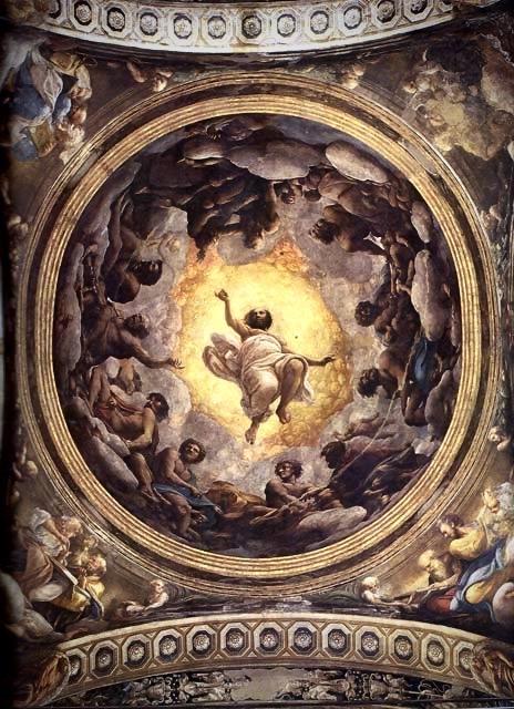 Le-Correge-1489-1534-La-montee-du-Christ-au-Paradis-Eglise-San-Giovanni-Evangelista-Parme-1520-23