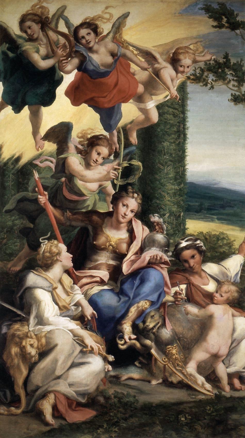 Correggio_-_Allegory_of_Virtues_-_WGA05338