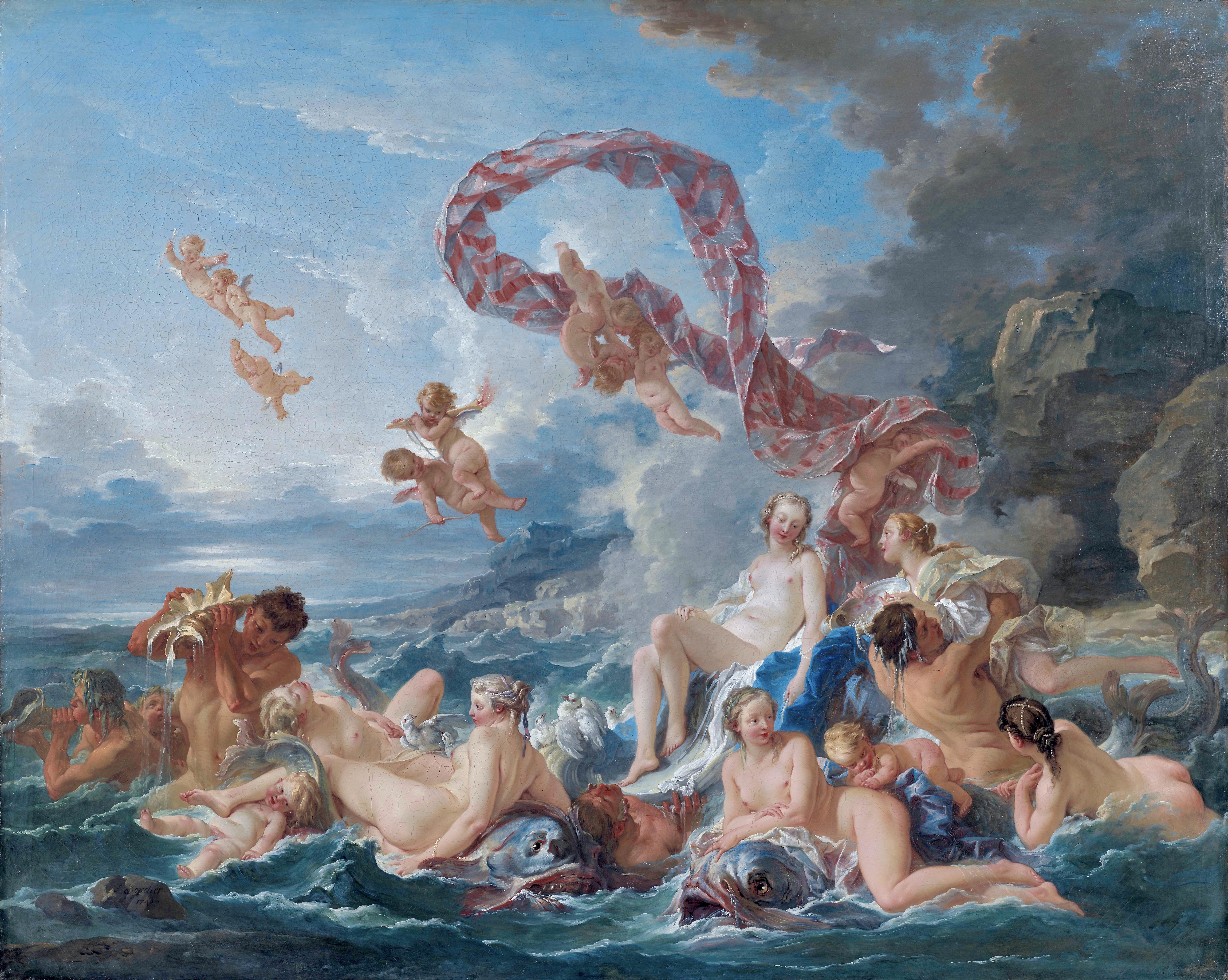 The Triumph of Venus, by François Boucher
