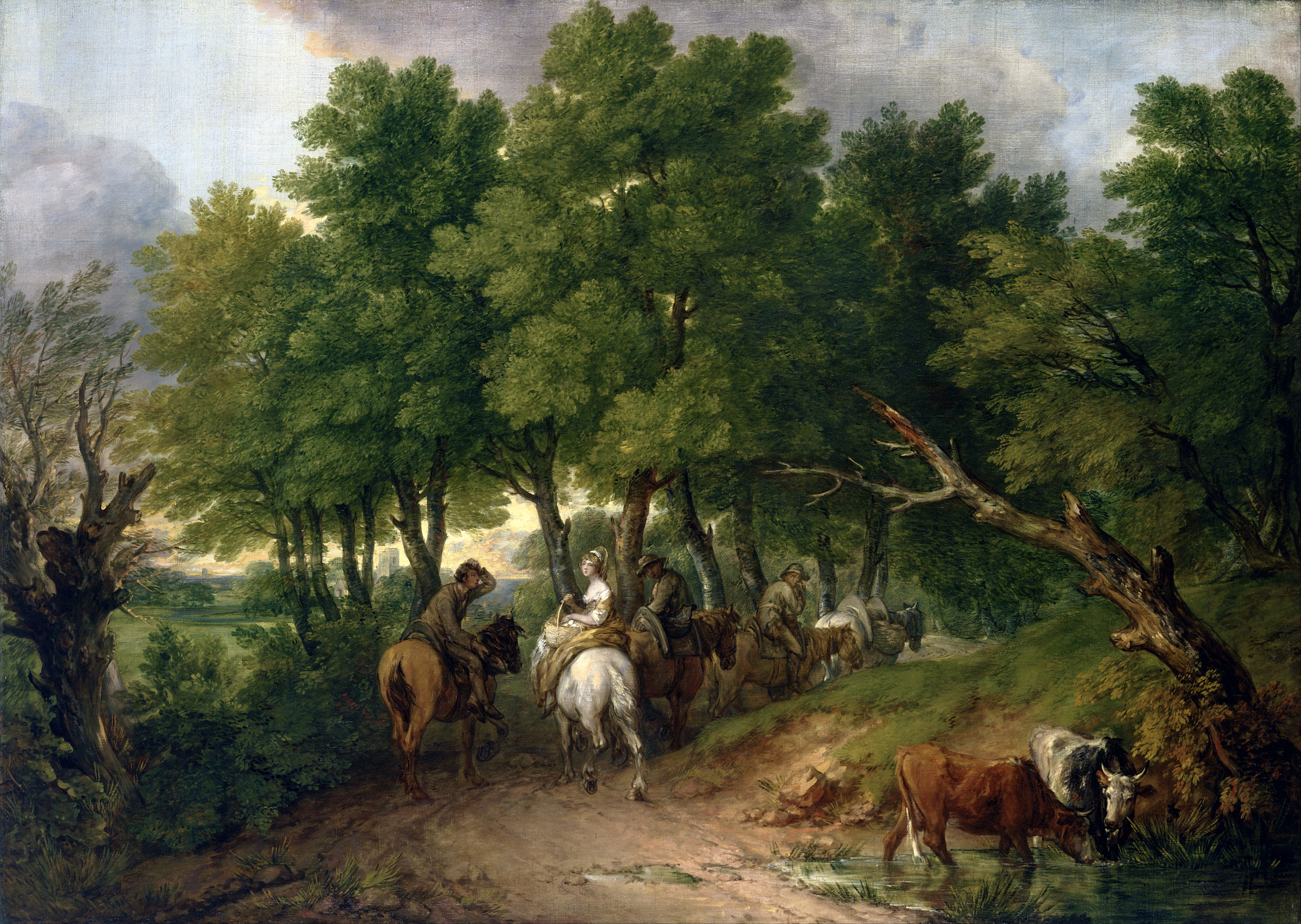 Thomas_Gainsborough_-_Road_from_Market_-_Google_Art_Project