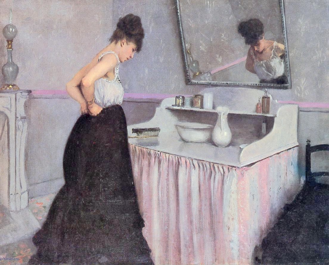 Caillebotte_-_Woman_at_a_Dressing_Table,_circa_1873
