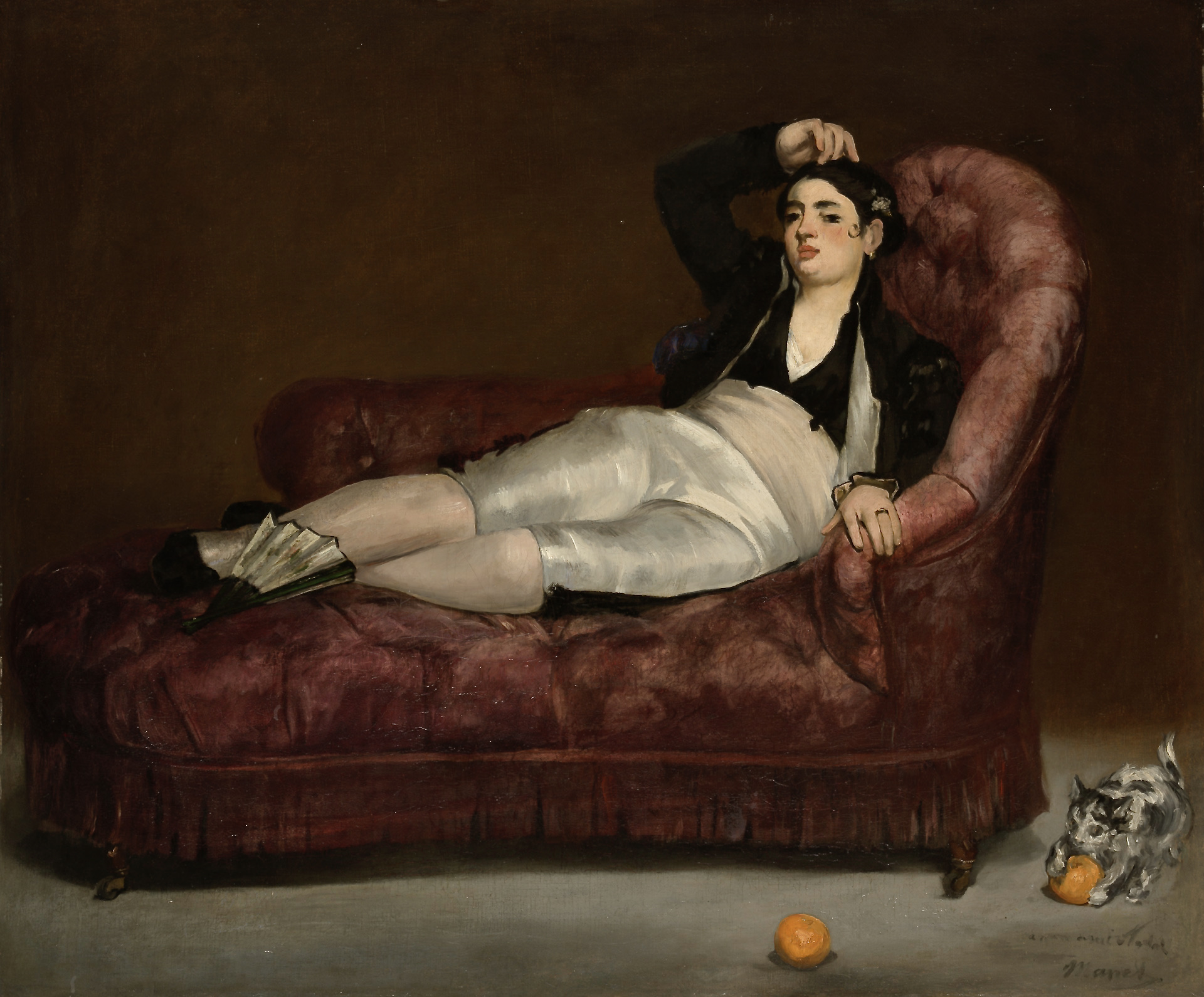 Édouard_Manet_-_Reclining_Young_Woman_in_Spanish_Costume_-_1961.18.33_-_Yale_University_Art_Gallery 2