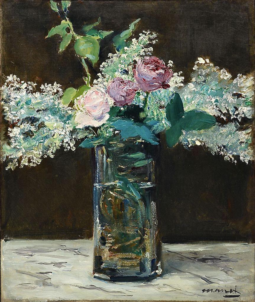 Édouard_Manet_-_Vase_avec_lilas_blanc_et_rosés_(1883)