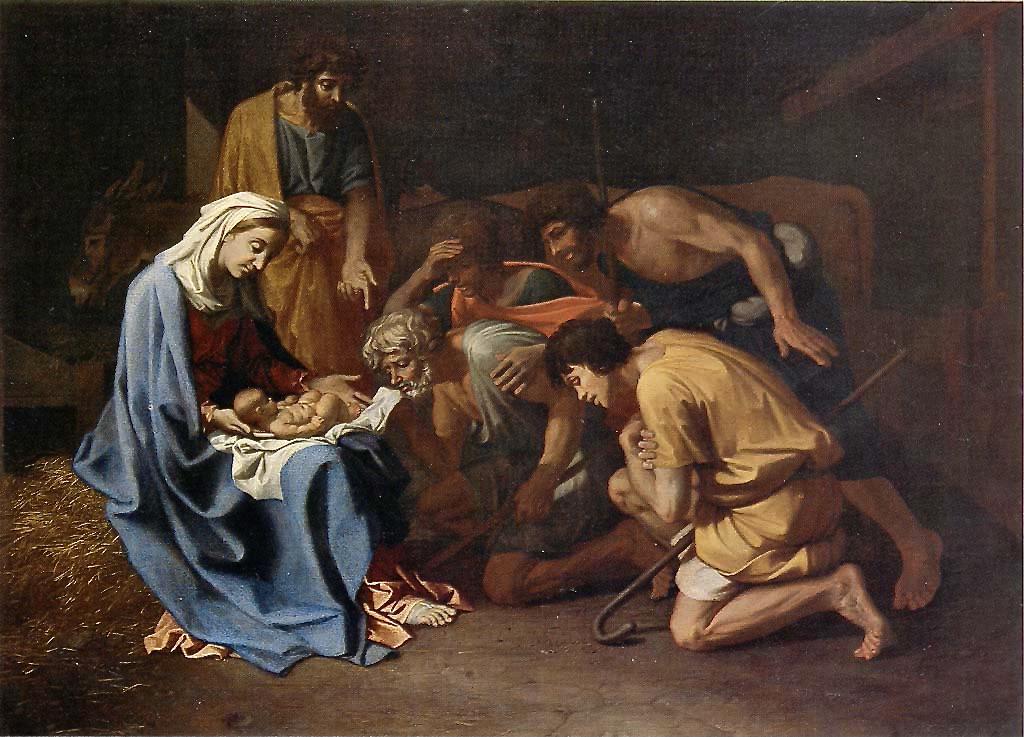 L'Adoration_des_bergers_-_Poussin_-_Alte_Pinakothek_München