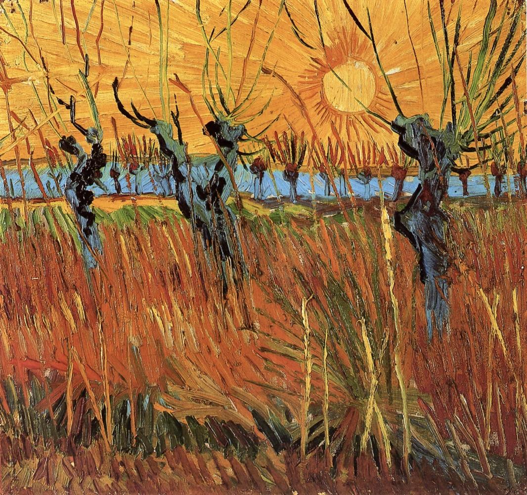 Willows_at_Sunset_1888_Vincent_van_Gogh